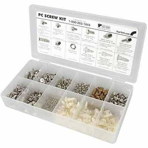 StarTech PCSCREWKIT Assortment of screws, nuts and standoffs