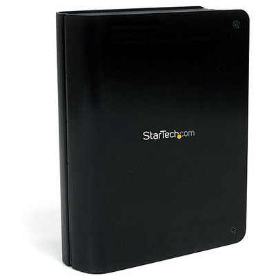 Startech.com S3510BMU33B 3.5in Sata USB 3 Hdd Enclosure Encl W/ Upright Design & Uasp