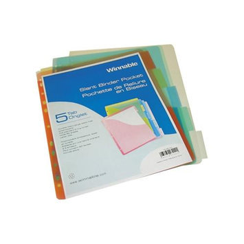 Roaring Spring Paper Products 52323 Poly Index Dividers - 24 Per Case