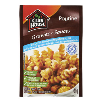 25% Less Salt & Gluten-Free Poutine Gravy Mix