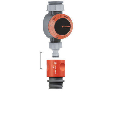 Gardena 31169 Mechanical Water Timer With Flow Control