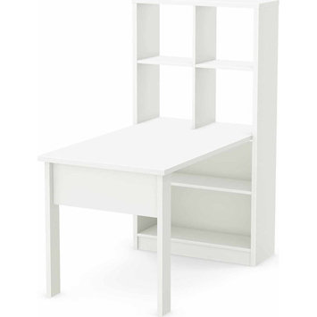 South Shore Industries Ltd South Shore Annexe Craft Table and Storage Unit Combo - Pure White