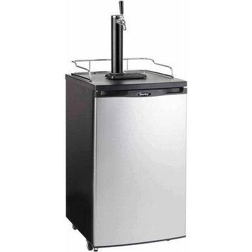 Danby Compact Refrigerators 1/2 Keg Beer Dispenser Black with spotless steel finish DKC052BSLDB-D