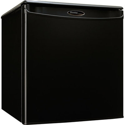 Danby Designer - 1.7 Cu. Ft. Compact Refrigerator - Black