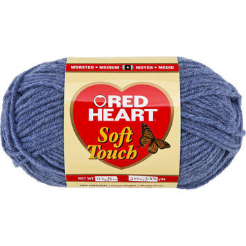 Hrl Red Heart Soft Touch Yarn-Blue Jeans