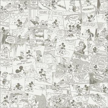 Sandy Lion Sandylion RMDSCB-46 Disney Paper 12 in. X12 in. -Mickey Cream Comic - 25 Sheets