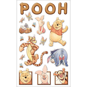 Disney Winnie The Pooh Gems Stickers Packaged-Pooh