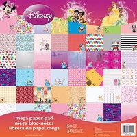 Sandy Lion Sandylion SC9601 Disney Mega Paper Pad 12 in. X12 in. 150-Sheets-Girl 50 Designs-3 Ea