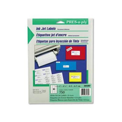 Avery 30580 Pres-A-Ply Inkjet
