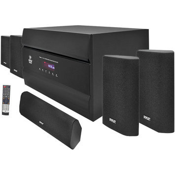 Pyle 400-Watt 5.1 Channel Home Theater System with AM/FM Tuner, CD, DVD & MP3 Pl