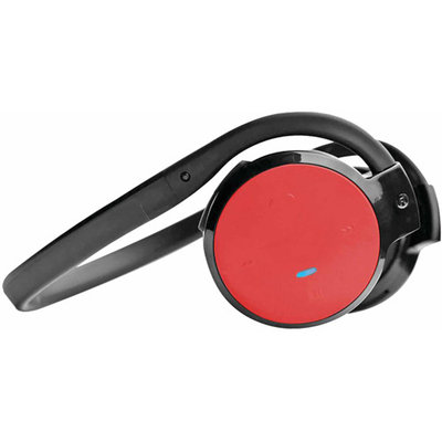 Pyle PHBT5 Stereo Bluetooth Headphones, Red
