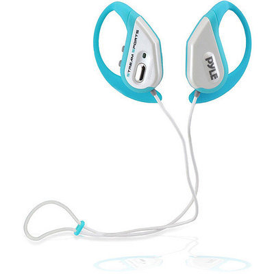 Pyle Audio Pyle PWBH18SL Bluetooth Water Resistant Headphones with Built-in Microphone for