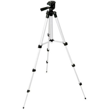 Pyle PRJTPS25 Universal Aluminum Travel Tripod, Max Height 42