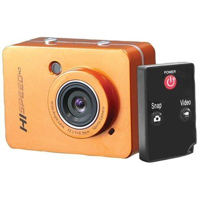 PYLE-SPORT PSCHD60OR 12.0 Megapixel 1080p Action Camera with 2.4