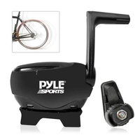 Pyle Audio Bluetooth Fitness and Training Bicycle Sensors with Wireless Data Transmission for Measuring Speed, Cadence, RPM and More
