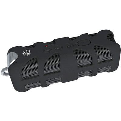 Pyle PWPBTA70BK Sound Box Splash Rugged and Splash-Proof Bluetooth Marine Grade Portable Wireless Speaker - Black