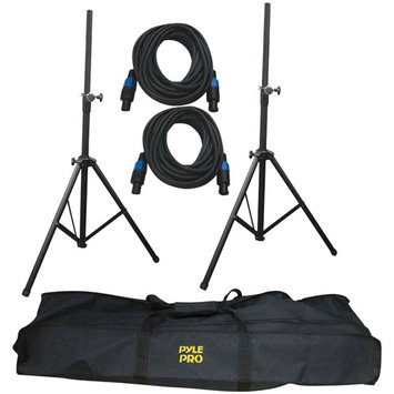 Pyle-Pro Heavy-Duty Cable & Speaker Stand