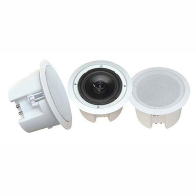 PyleHome PDPC82 8 in. In-Ceiling 2-Way Flush Mount Enclosure Speaker System