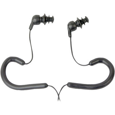 PyleHome PWPE10B Waterproof Marine Headphones Earbuds - Black