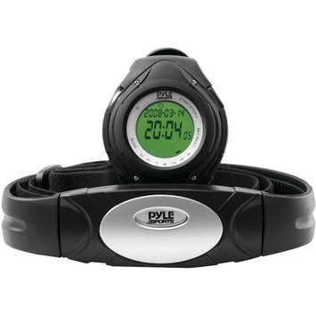 PYLE phrm38bk heart rate monitor watch, black