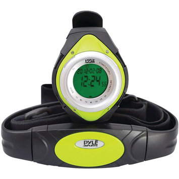Pyle PHRM38GR Heart Rate Monitor Watch Green