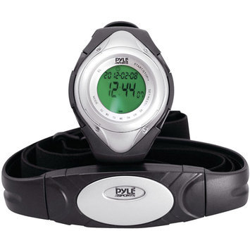 Pyle PHRM38SL Heart Rate Monitor Watch Silver