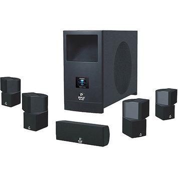 Pyle PHSA5 5.1 Speaker System - 100 W RMS - Piano Black