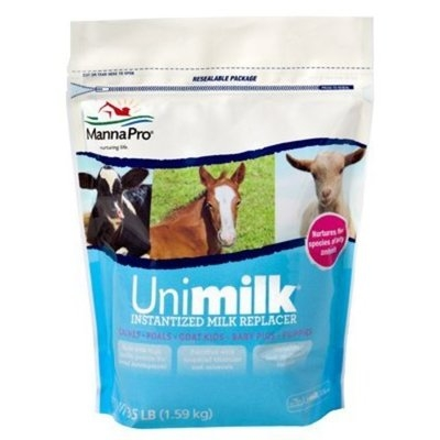 Manna Pro Uni-Milk Instantized Milk Replacer, 3.5 Lb