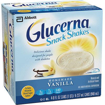 Glucerna Snack Shake, Homemade Vanilla (pack Of 16)