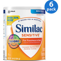 Abbott Nutrition Similac Sensitive Value Pack 30% More