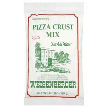 Wiesenberger Weisenbergers Pizza Crust Mix, 6.5 oz, Pack of 12