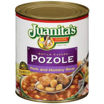 Juanita's Foods: Pork And Hominy Soup Pozole, 29.5 Oz