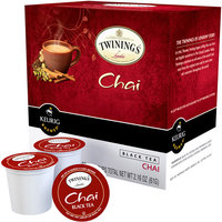 Keurig KCup Portion Pack Twinings of London Chai Black Tea 18pk.