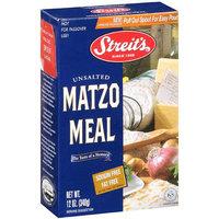 Streits B21987 Streits Matzo Meal -18x12 Oz