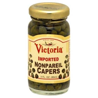 Victoria Caper Non Pareil 3 OZ (Pack Of 12)