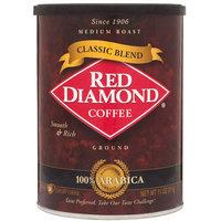 Red Diamond Classic Blend Medium Roast Ground Coffee, 11 oz