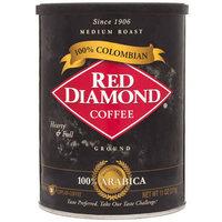 Red Diamond 100% Colombian Medium Roast Ground Coffee, 11 oz