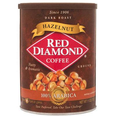 Red Diamond Hazelnut Dark Roast Ground Coffee, 11 oz