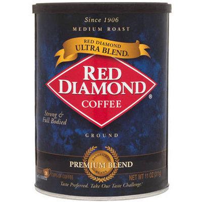 Red Diamond Ultra Blend Medium Roast Ground Coffee, 11 oz