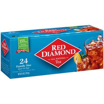 Red Diamond Orange Pekoe & Pekoe Tea Bags, 24 count, 6 oz