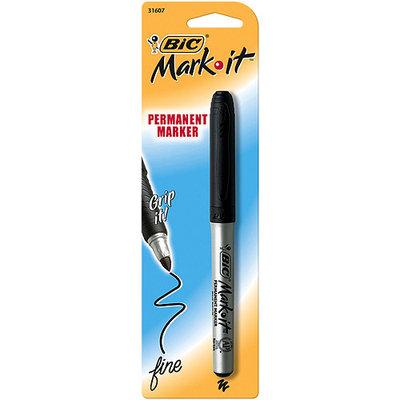 BIC Mark-It Permanent Marker Fine Point -Black