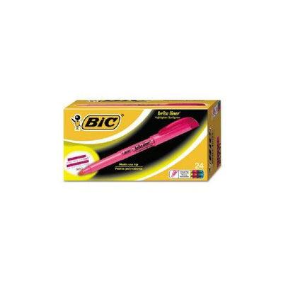 BIC Brite Liner Highlighter, Chisel Tip, Assorted, 24 per Pack, PK - BICBL24ASST