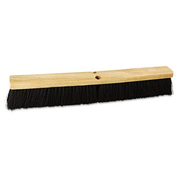 PROLINE BRUSH Floor Brush Head, 3 in Polypropylene Bristles, 24