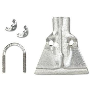 Boardwalk BWK120 Steel Metal Handle Braces Small Fits 18