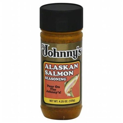 Johnny's Fine Foods Johnnys Fine Foods Ssnng Salmon Alaskan 4.25 OZ (Pack of 6)