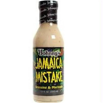 Johnnys B78587 Johnnys Dressing & Marinade Jamaica Mistake -6x12oz