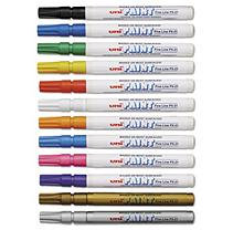 Sanford Ink Corporation Uni-Paint Markers, 12/Set