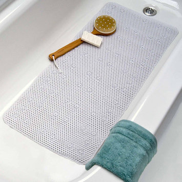 Slip-x Solutions slipX Solutions Soft Touch Bath Mat Almond, 17X36
