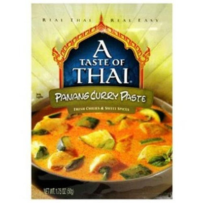 A Taste of Thai Panang Curry Paste, 12 pk