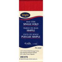 Single Fold Bias Tape 1/2 4 Yards-Scarlet